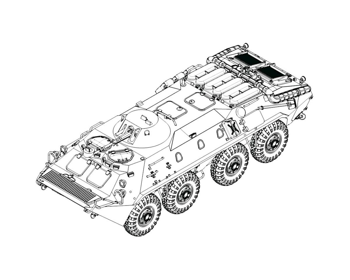Trumpeter Scale Models 7137 1/72 Russian BTR-70 Armored Personnel Carrier Earl