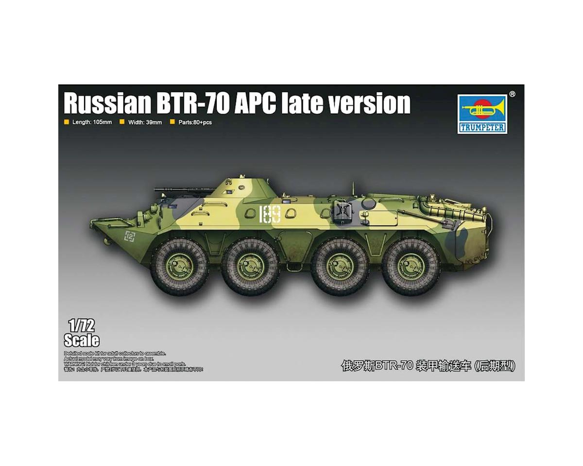 Trumpeter Scale Models 1/72 Russian BTR-70 Armored Personnel Carrier Late