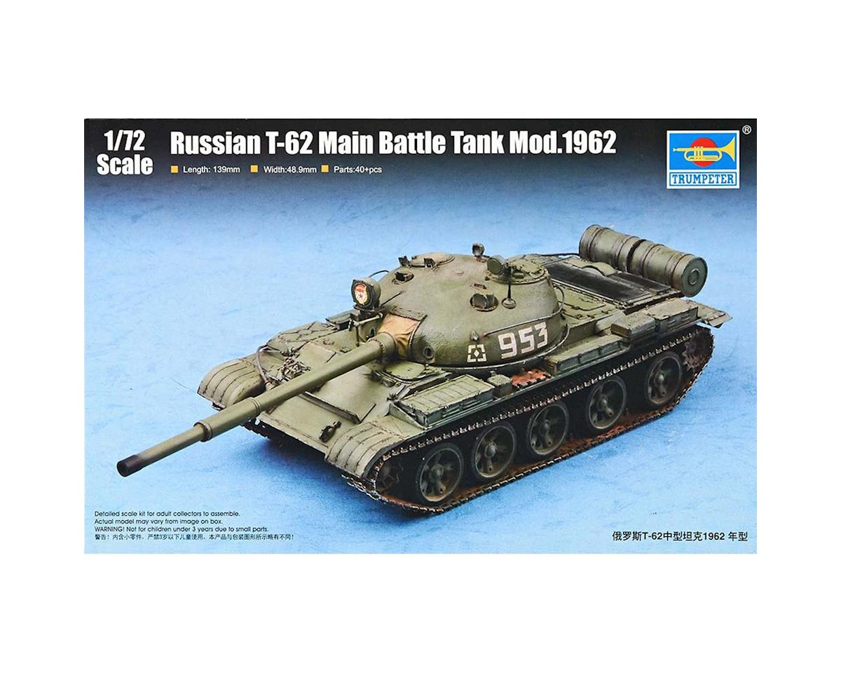 7146 1/72 Russian T-62 Mod 1962 Main Battle Tank by Trumpeter Scale Models