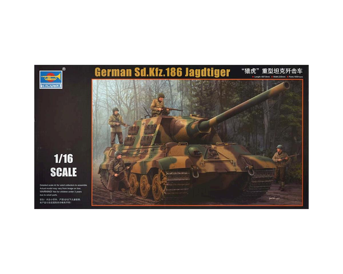 Trumpeter Scale Models 923 1/16 German SdKfz 186 Jagdtiger Tank