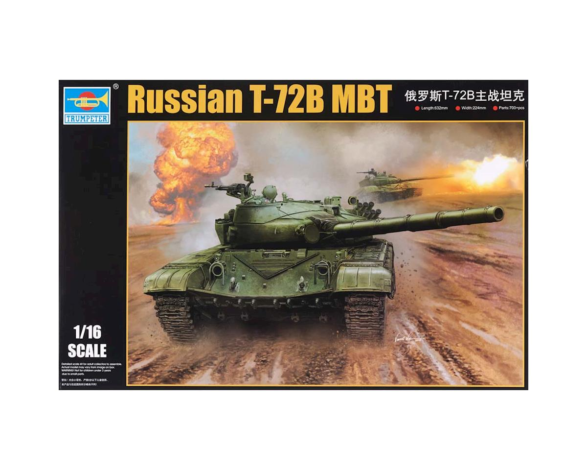 Trumpeter Scale Models 924 1/16 Russian T-72B Mod 1985 Main Battle Tank