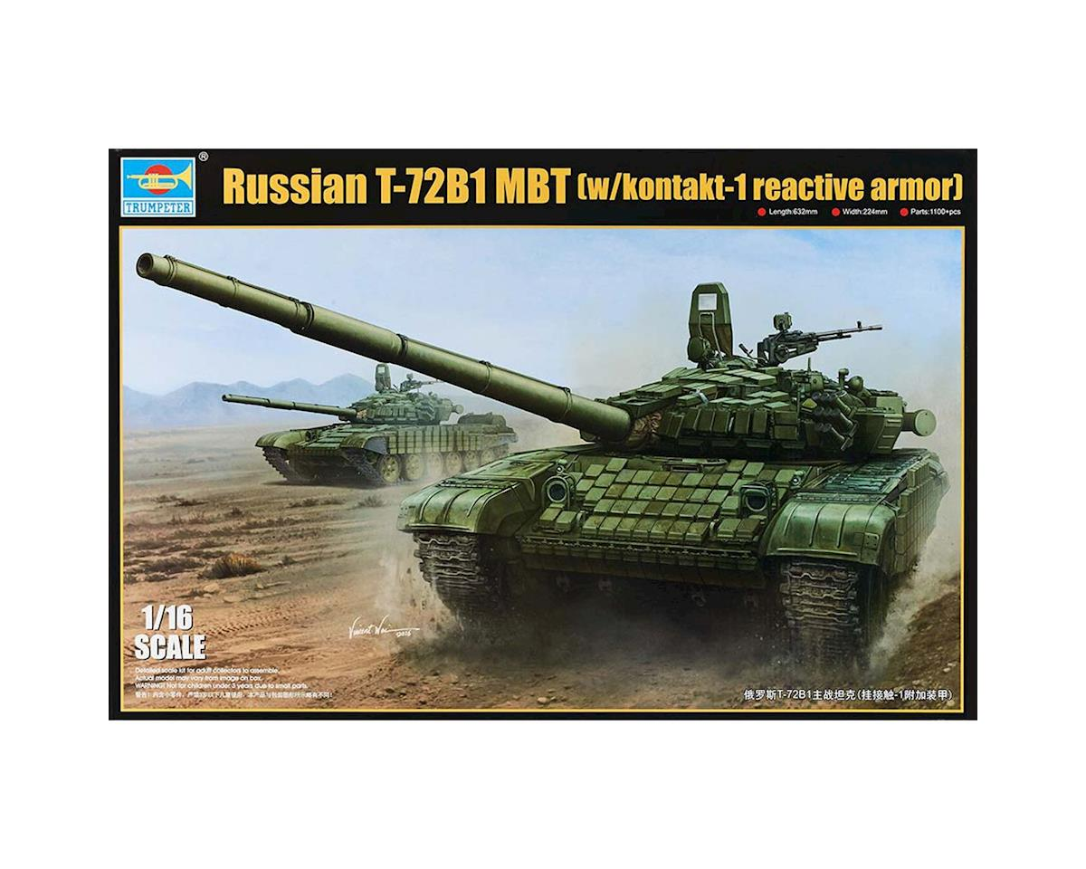 Trumpeter Scale Models 1/16 Russian T72B/B1 Mod 1986 Main Battle Tank