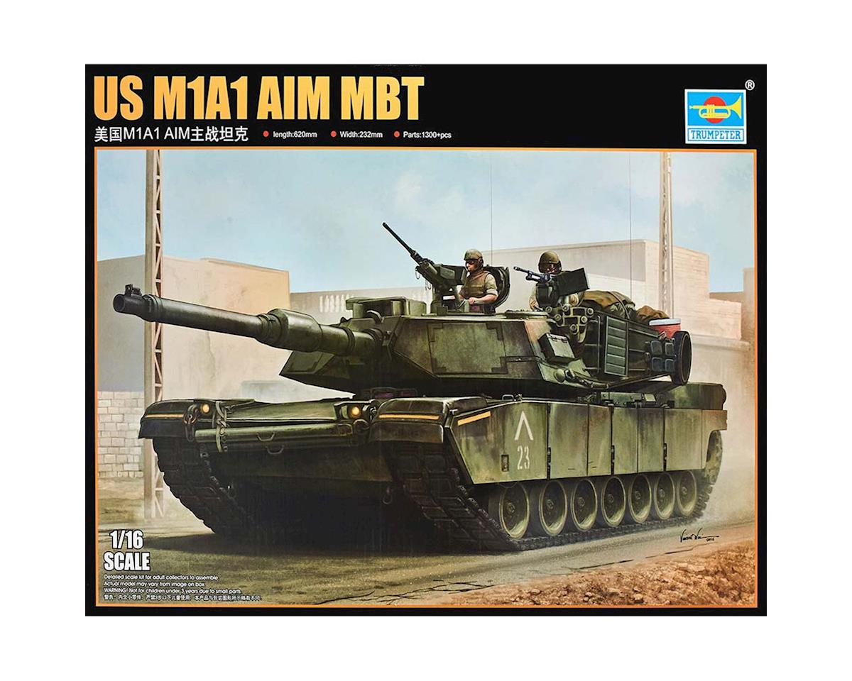 926 1/16 US M1A1 AIM Main Battle Tank by Trumpeter Scale Models