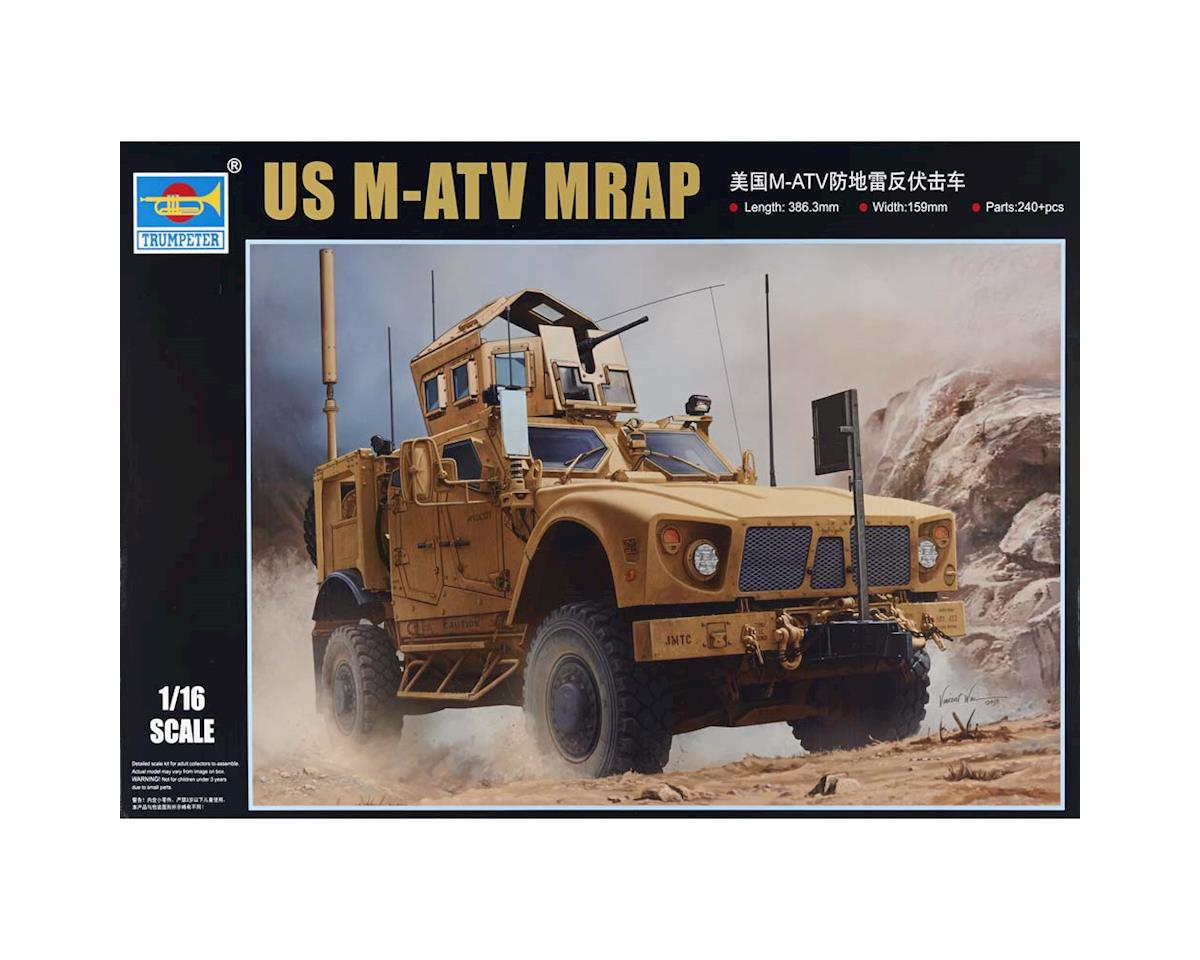 Trumpeter Scale Models 930 1/16 US M-ATV MRAP (Mine Resistant) Vehicle