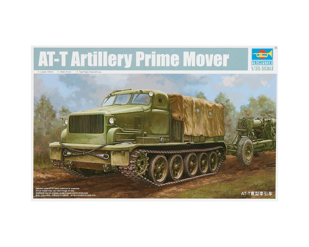 9501 1/35 Soviet AT-T Artillery Prime Mover by Trumpeter Scale Models