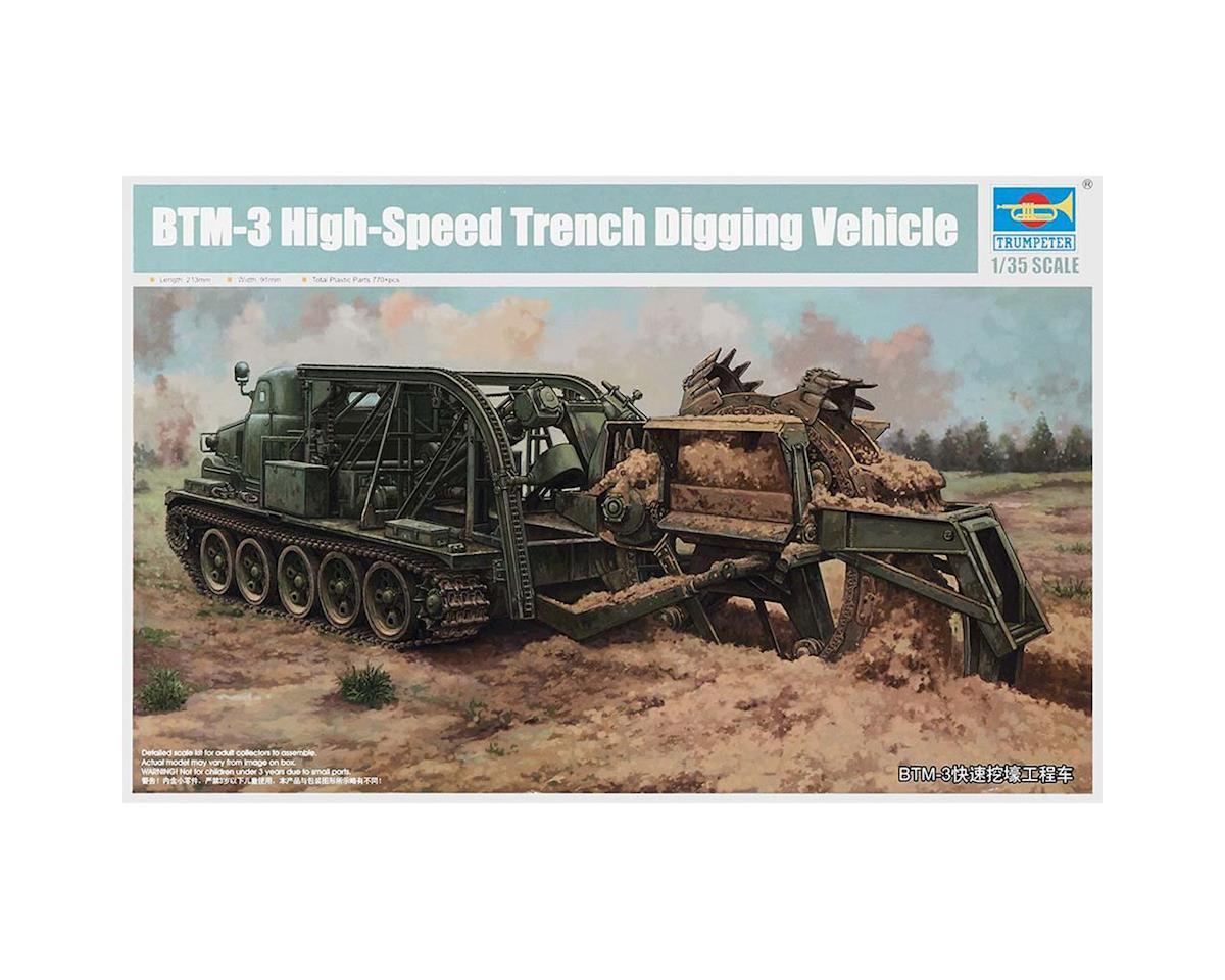 1/35 BTM-3 High Speed Trench Digging Vehicle by Trumpeter Scale Models