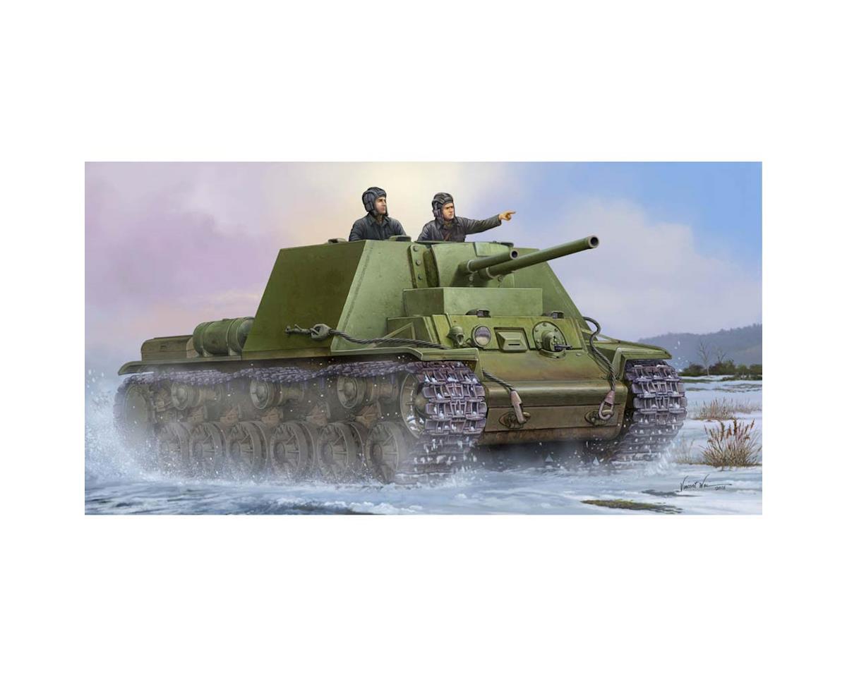 9503 1/35 Soviet KV-7 Mod 1941 Tank by Trumpeter Scale Models