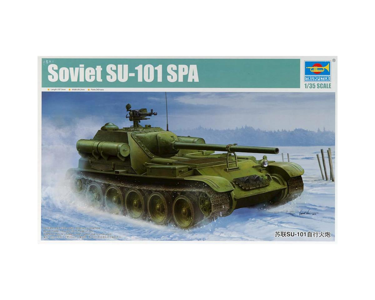 Trumpeter Scale Models 1/35 Soviet Su-101 Self-Propelled Artillery Tank