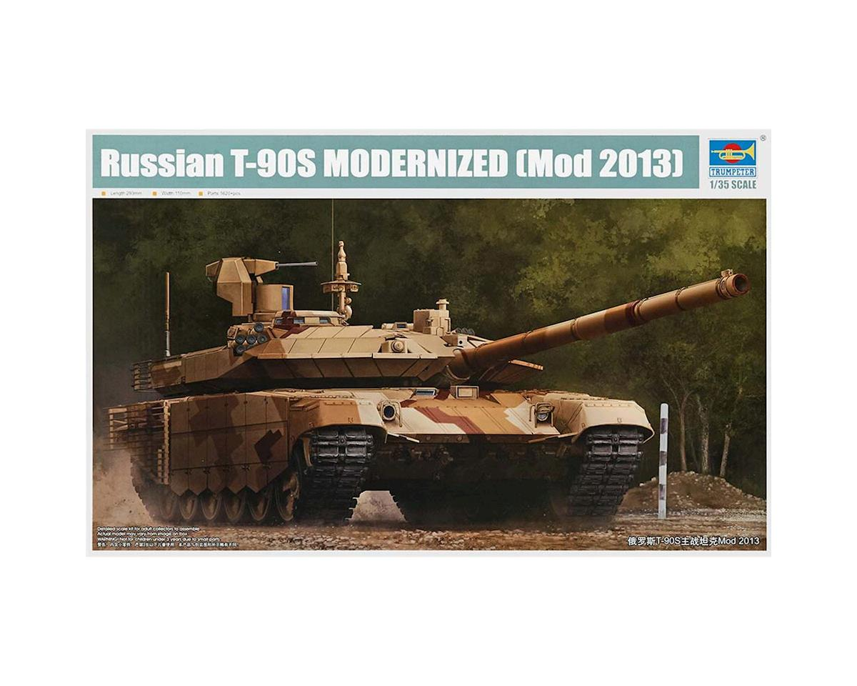 Trumpeter Scale Models 1/35 Russian T-90S Modernized Main Battle Tnk