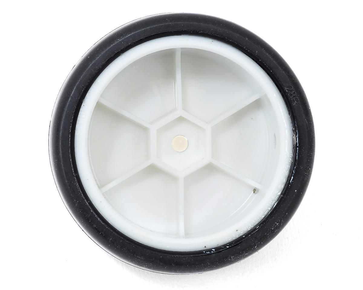 Team Sorex 12mm Hex Pre-Mounted Carpet Racing Tires (4) (White) (28R)