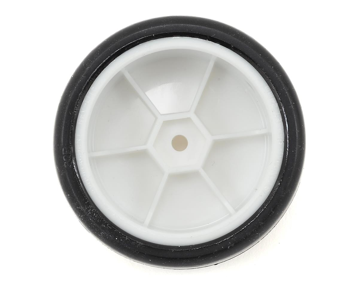 12mm Hex Pre-Mounted Rubber Tires (White) (4) (32R) by Team Sorex