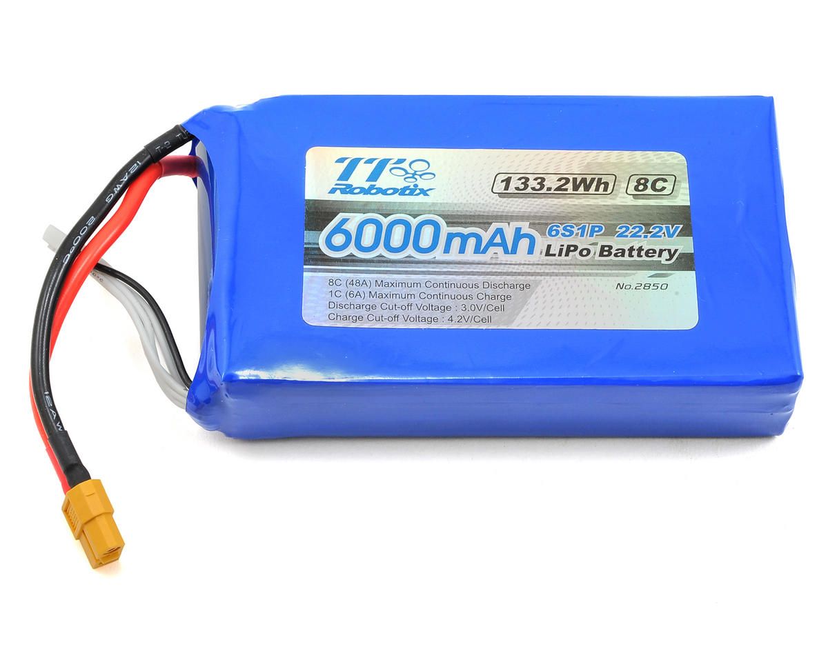Ghost+ X450 6S Li-Poly Battery Pack (22.2V/6000mAh)