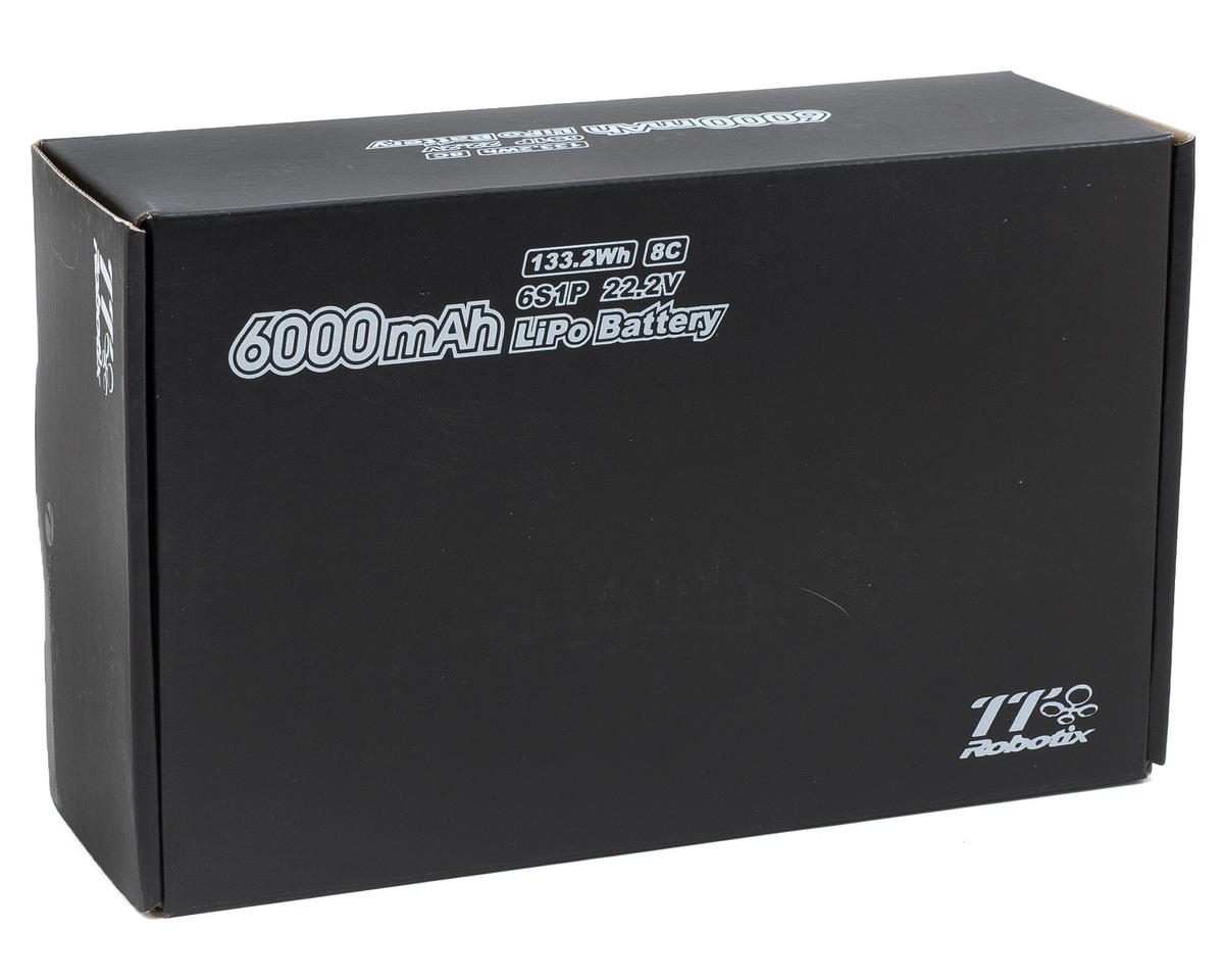 Thunder Tiger Ghost+ X450 6S Li-Poly Battery Pack (22.2V/6000mAh)