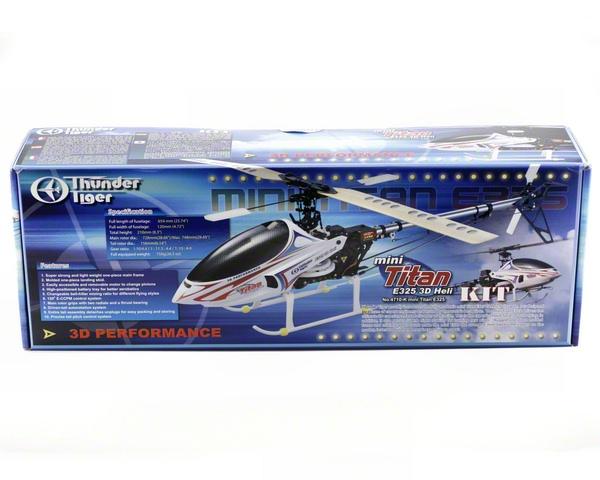 Thunder Tiger Mini Titan E325 Electric 3D Helicopter Kit