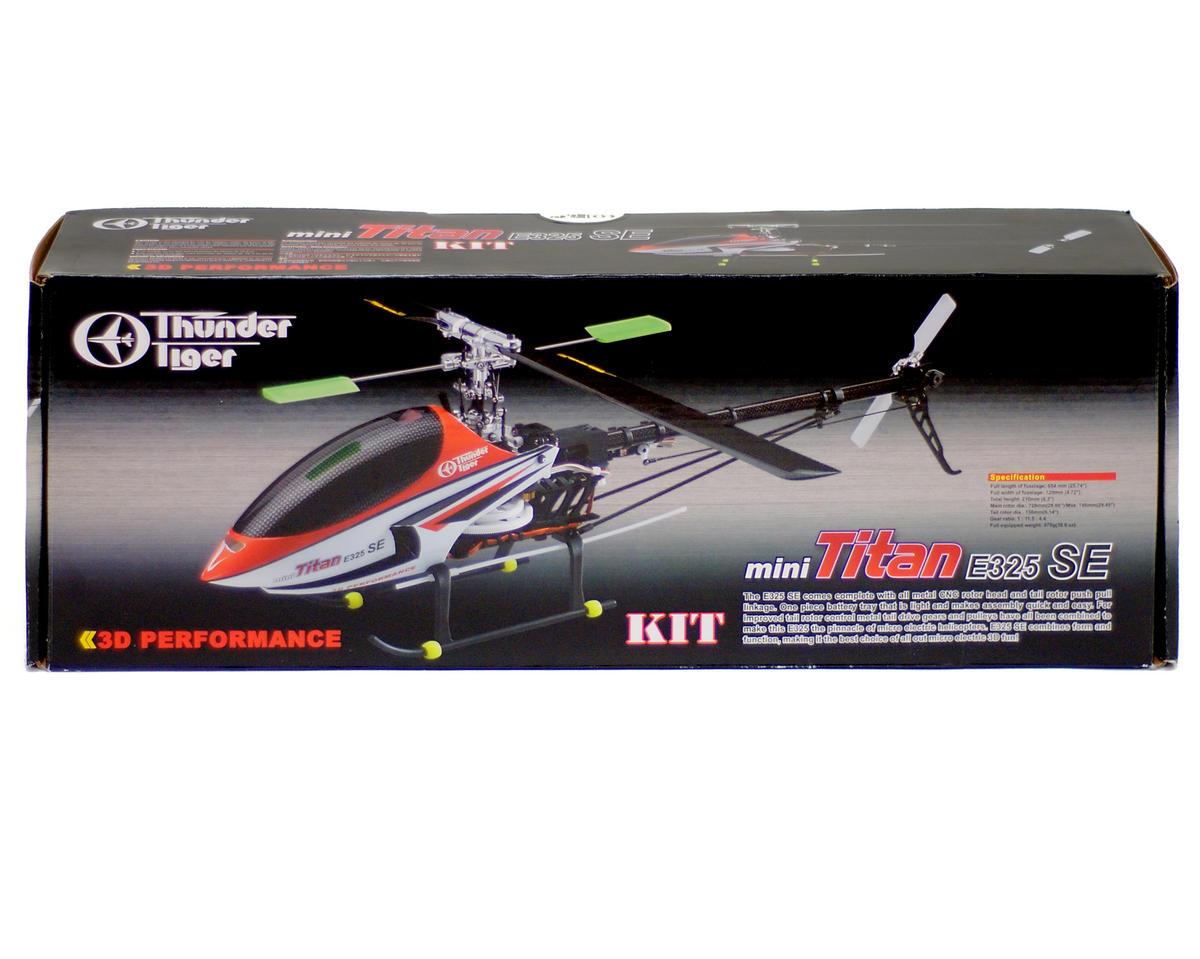 Thunder Tiger Mini Titan E325 Se Electric 3d Helicopter