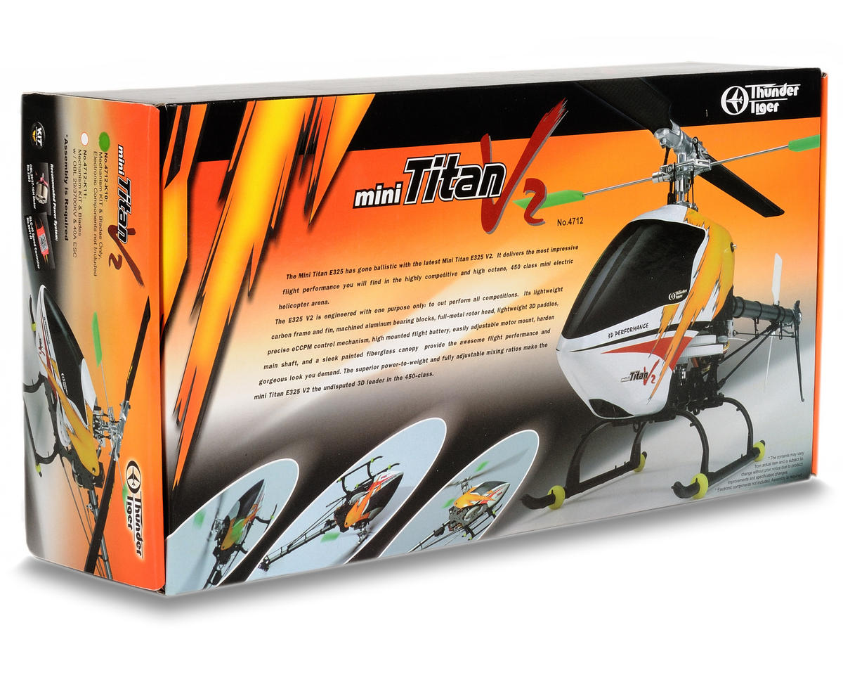 Thunder Tiger Mini Titan E325 V2 Electric 3D Helicopter Kit