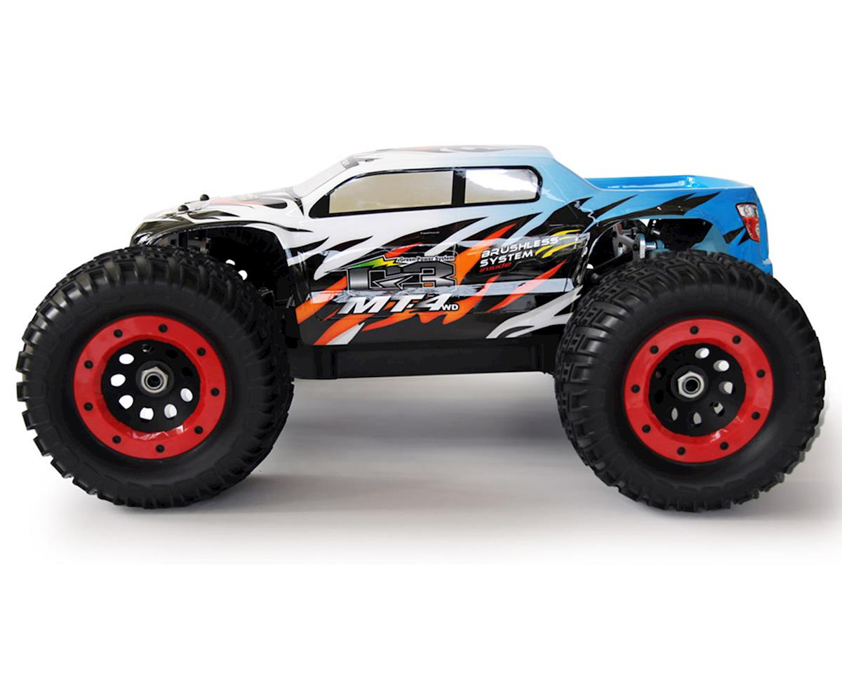 MT4 G3 1/8 Scale Monster Truck RTR (Blue) by Thunder Tiger
