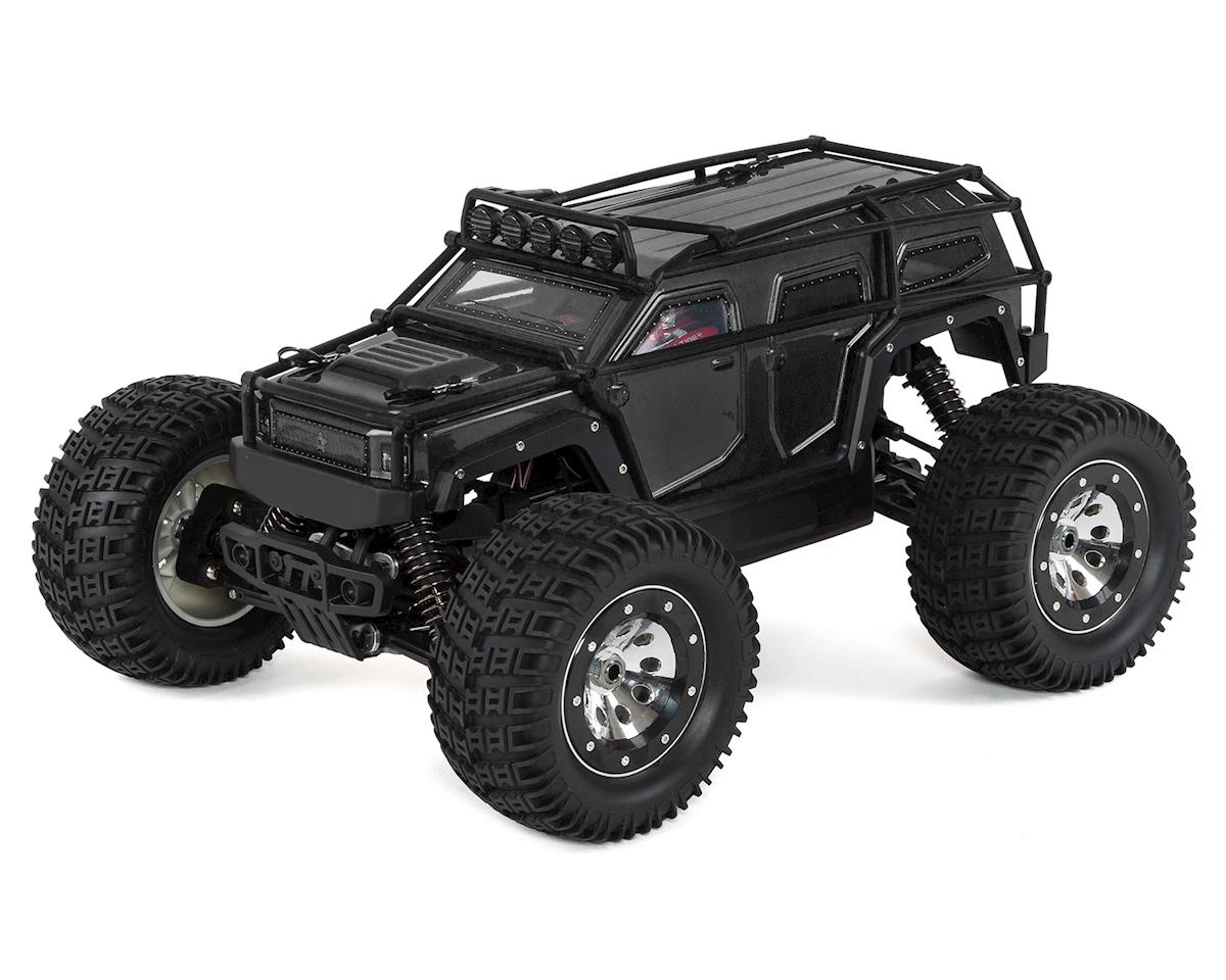 Thunder Tiger K-Rock MT4 1/8 Scale Monster Truck RTR w/ESS Sound System (Black)