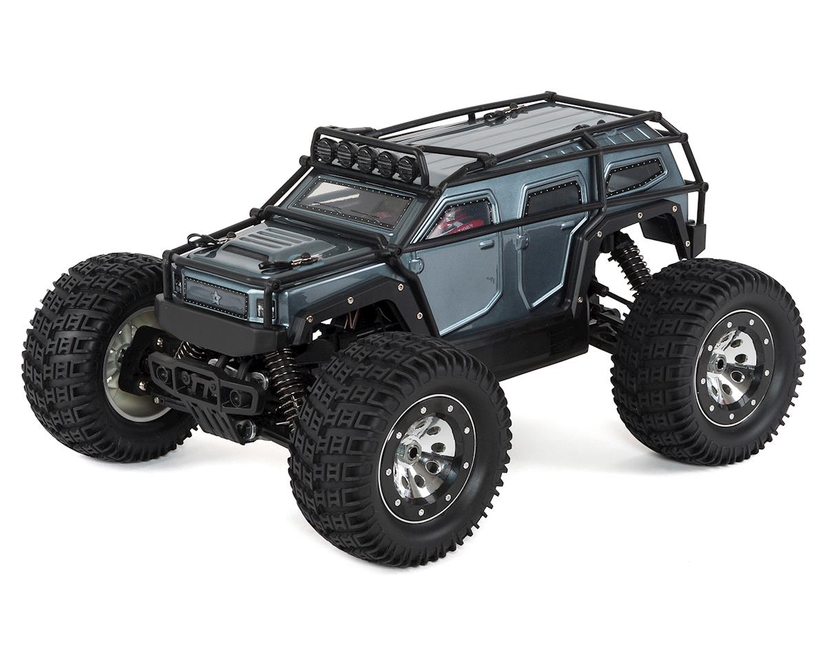 Thunder Tiger K-Rock MT4 1/8 Scale Monster Truck RTR w/ESS Sound System (Gray)
