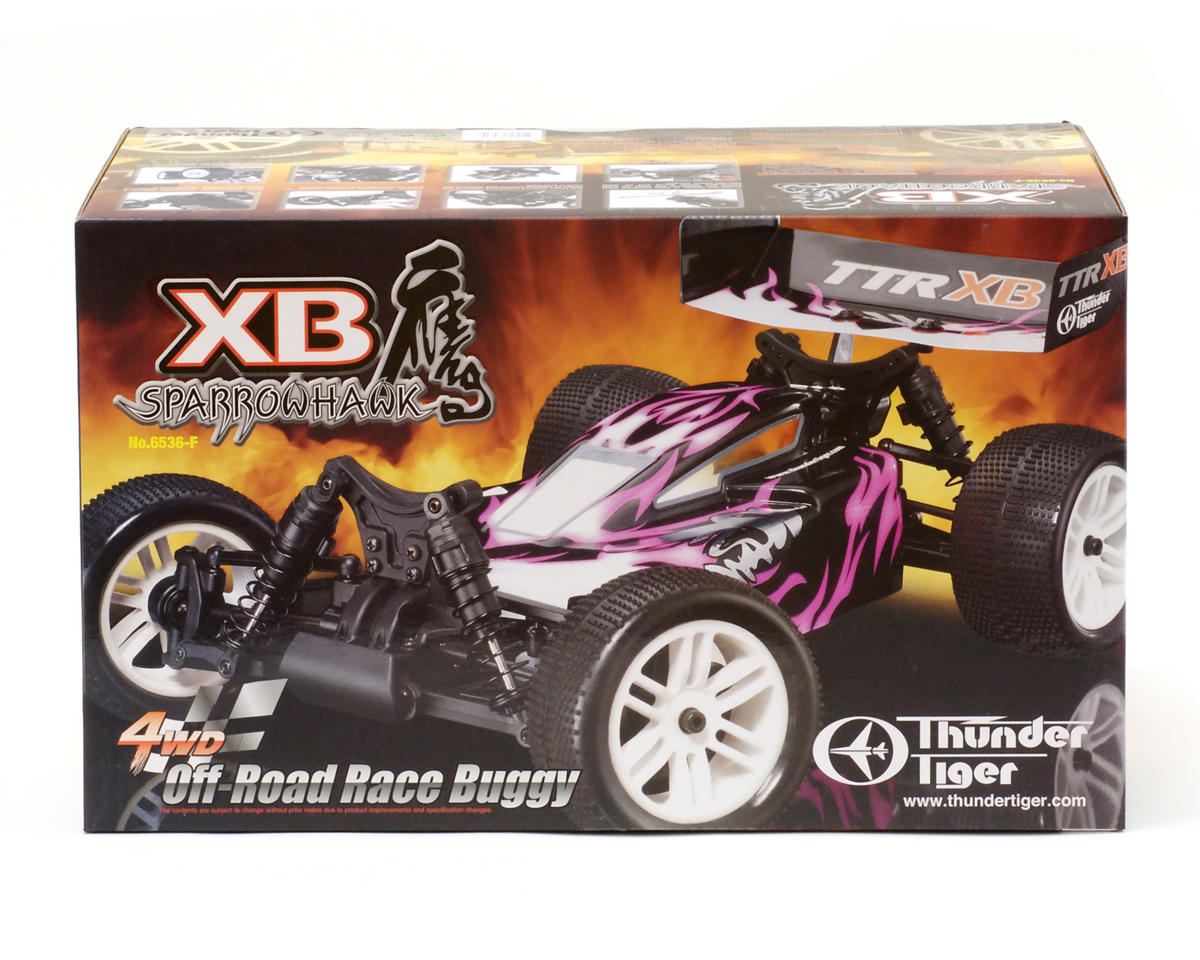 Thunder Tiger Sparrowhawk XB 1/10th 4WD Off-Road Buggy RTR (Blue/White)
