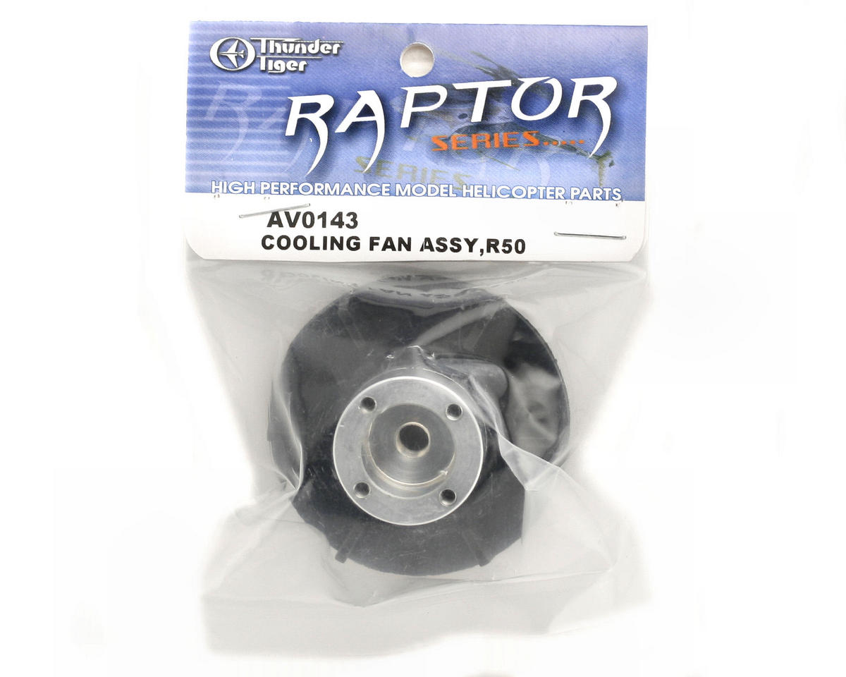 Thunder Tiger Cooling Fan Assembly (R30V2/R50)