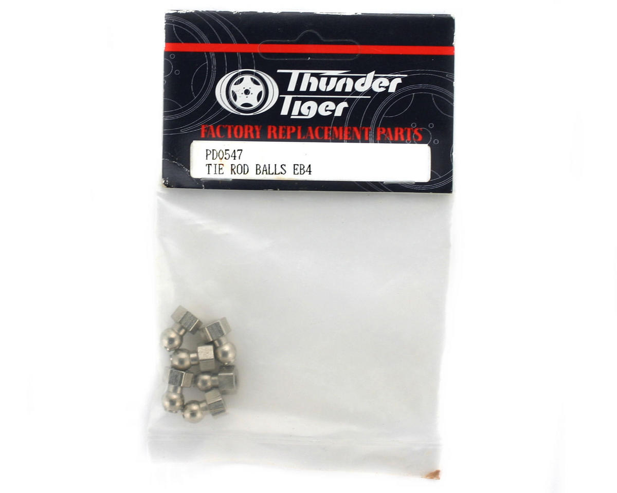 Thunder Tiger Tie Rod Standoff Ball, (L)