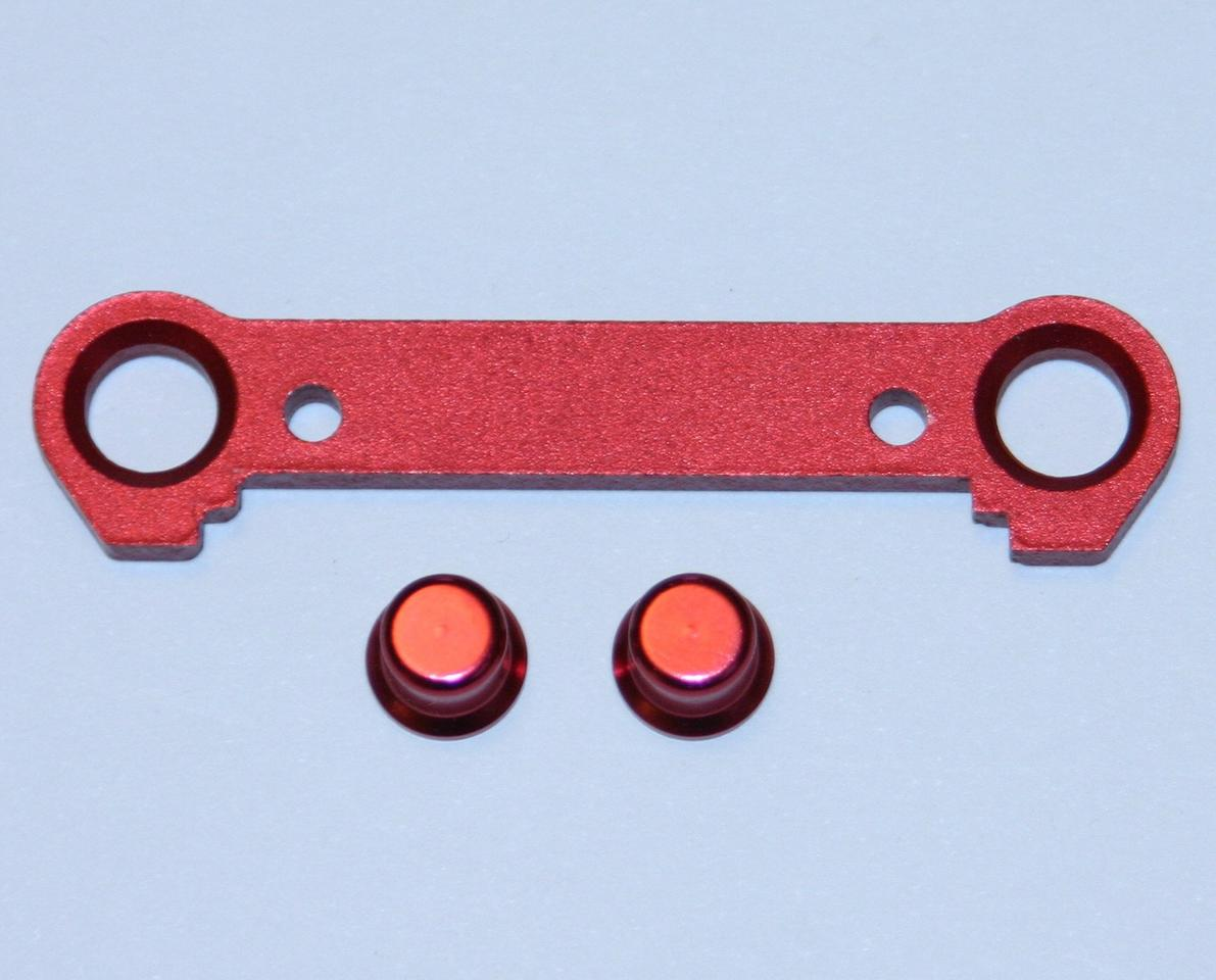 Thunder Tiger Red Aluminum Front Lower Suspension Plate (FF0), S3