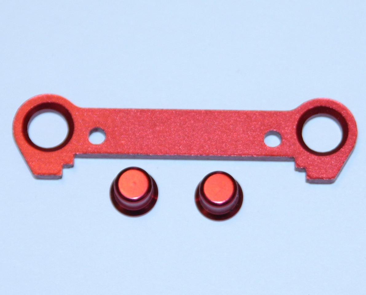 Thunder Tiger Red Aluminum Front Lower Suspension Plate (FF+1), S3