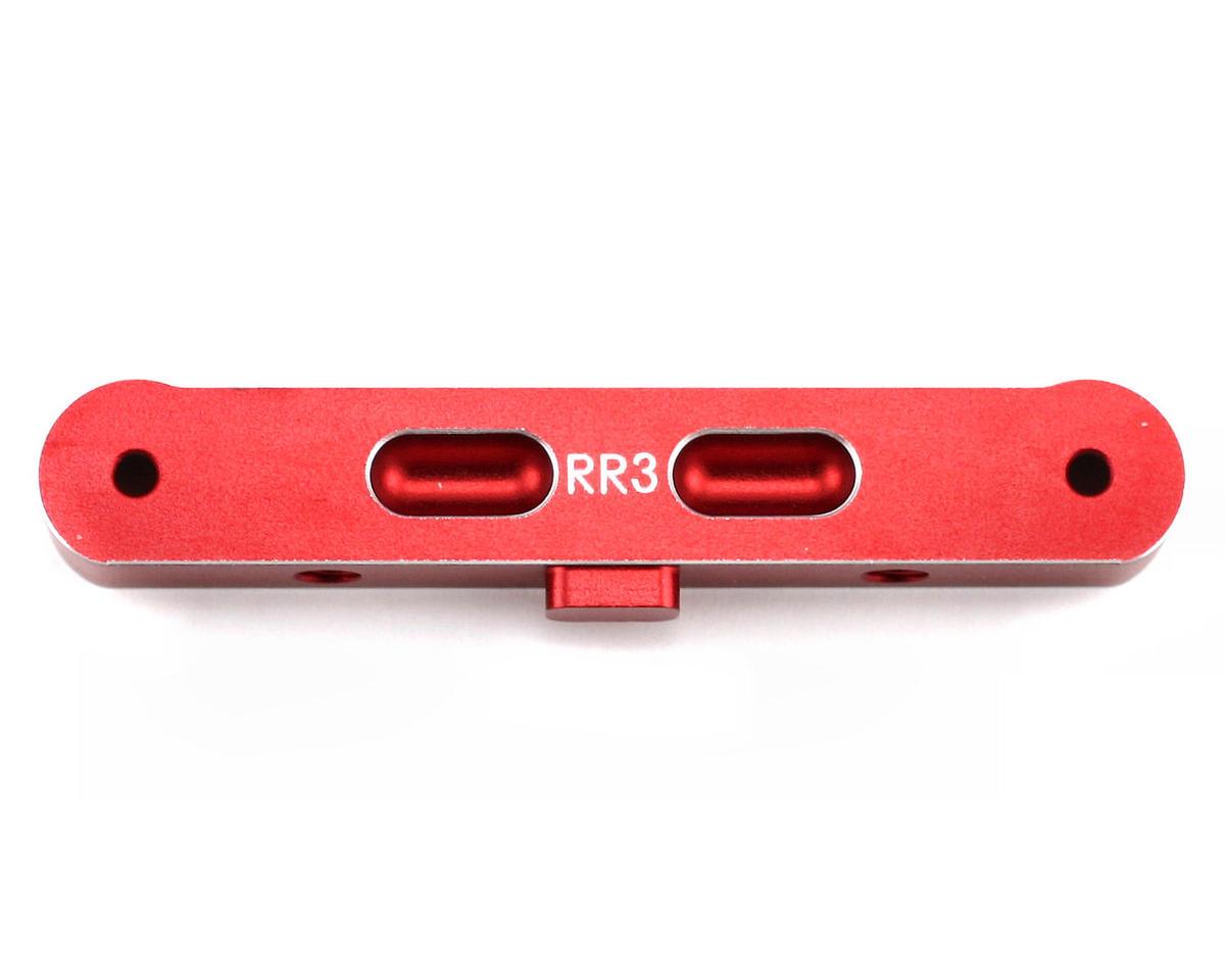 Thunder Tiger Red Aluminum Rear Plate Rear Transmission (RR+3), S3