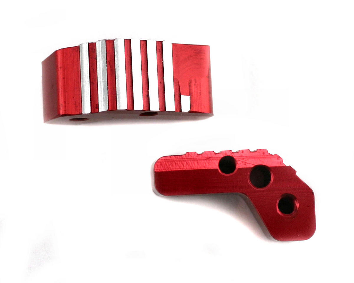 Thunder Tiger Red Aluminum Upper Suspension Arm Holder, S3