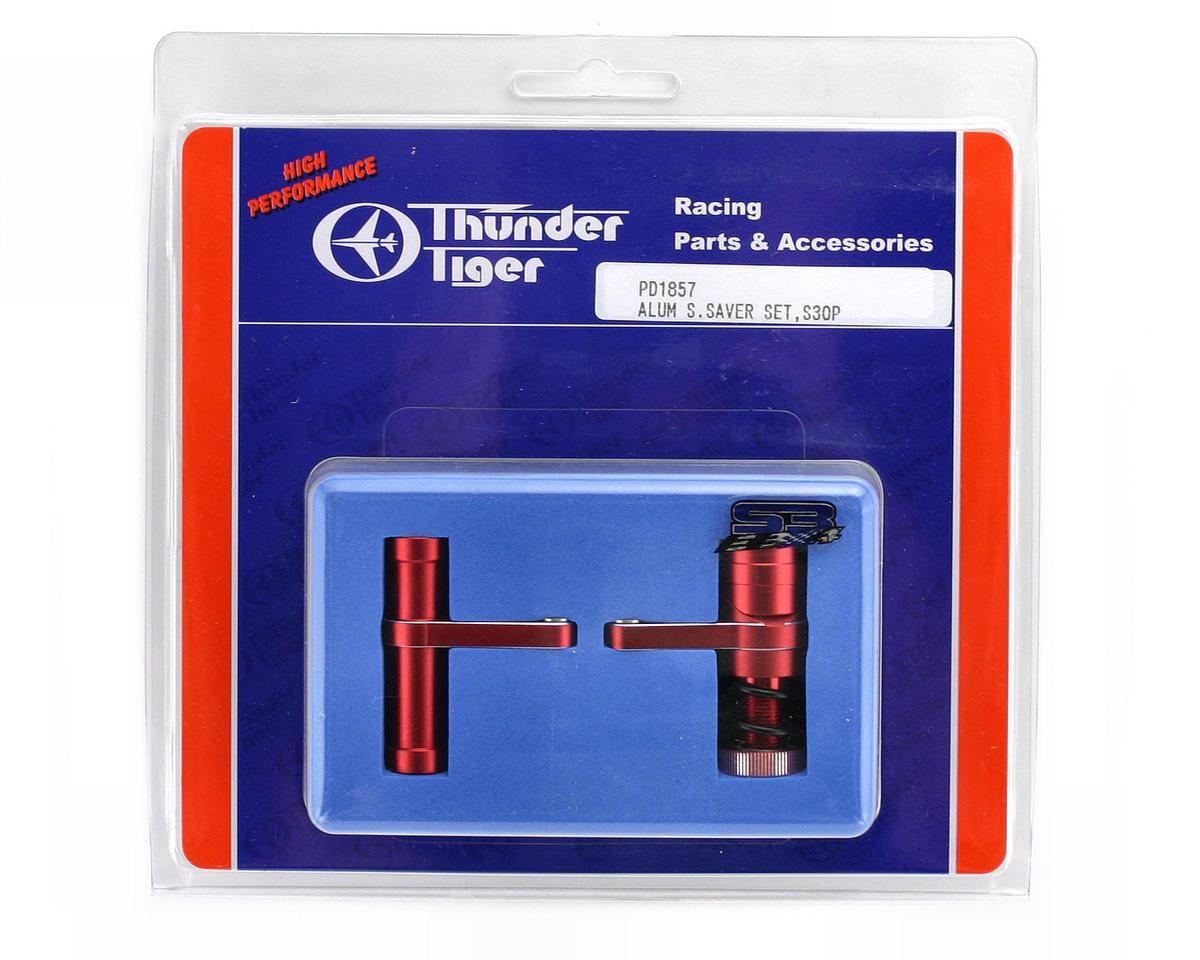 Thunder Tiger Red Aluminum Servo Saver Set, S3/ST-1