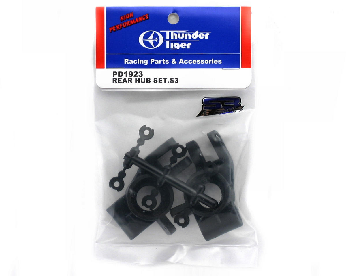 Thunder Tiger Rear Hub Set, S3
