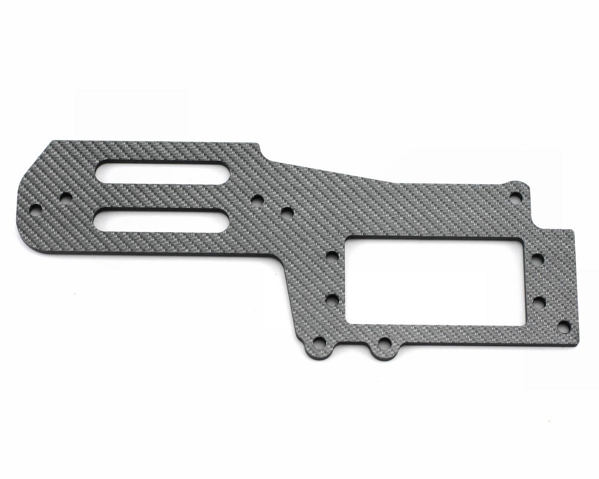 Thunder Tiger Carbon Servo Tray (Titanium Color), S3