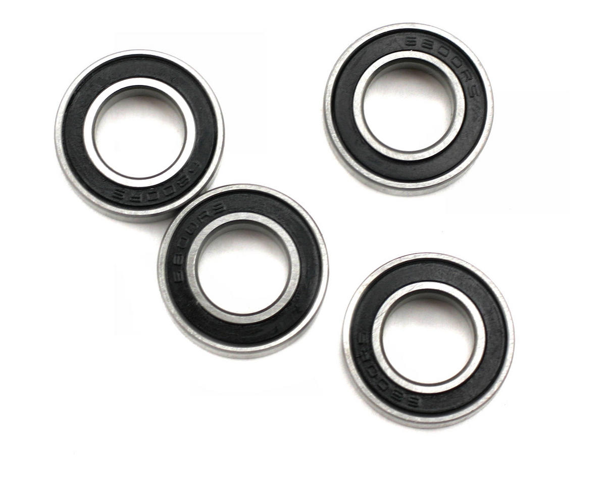 Thunder Tiger 10x19x5mm Rubber Sealed Ball Bearings (4)
