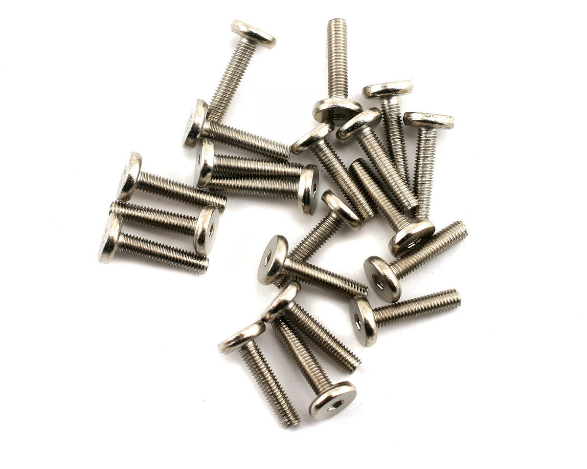 Thunder Tiger 3x14mm Flat Head Socket Screw (20)