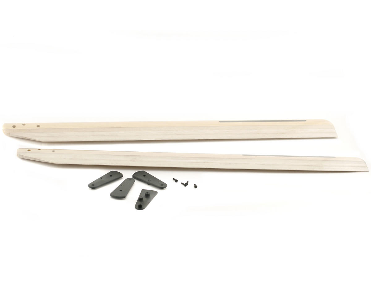 Thunder Tiger 550mm Wood Main Rotor Blades