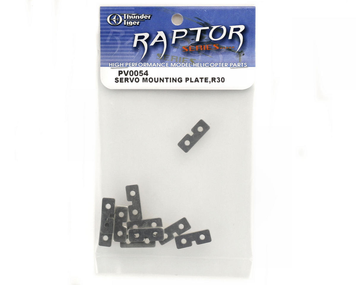 Thunder Tiger Servo Mounting Plate (10)