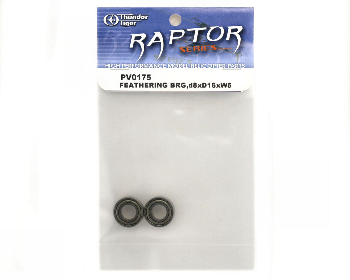 Thunder Tiger 8x16x5mm Ball Bearing (2)