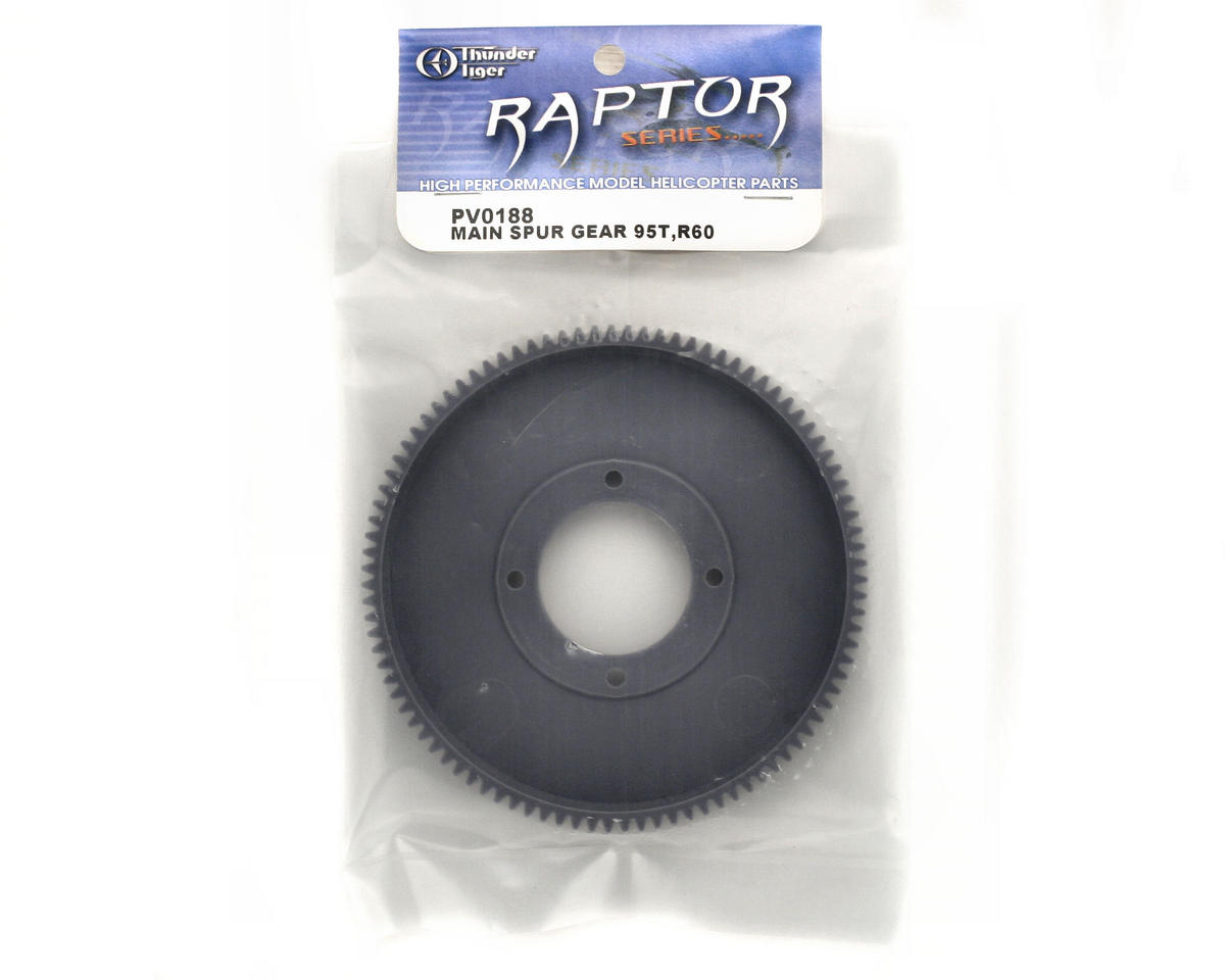 Thunder Tiger Main Spur Gear (95T) (R60)