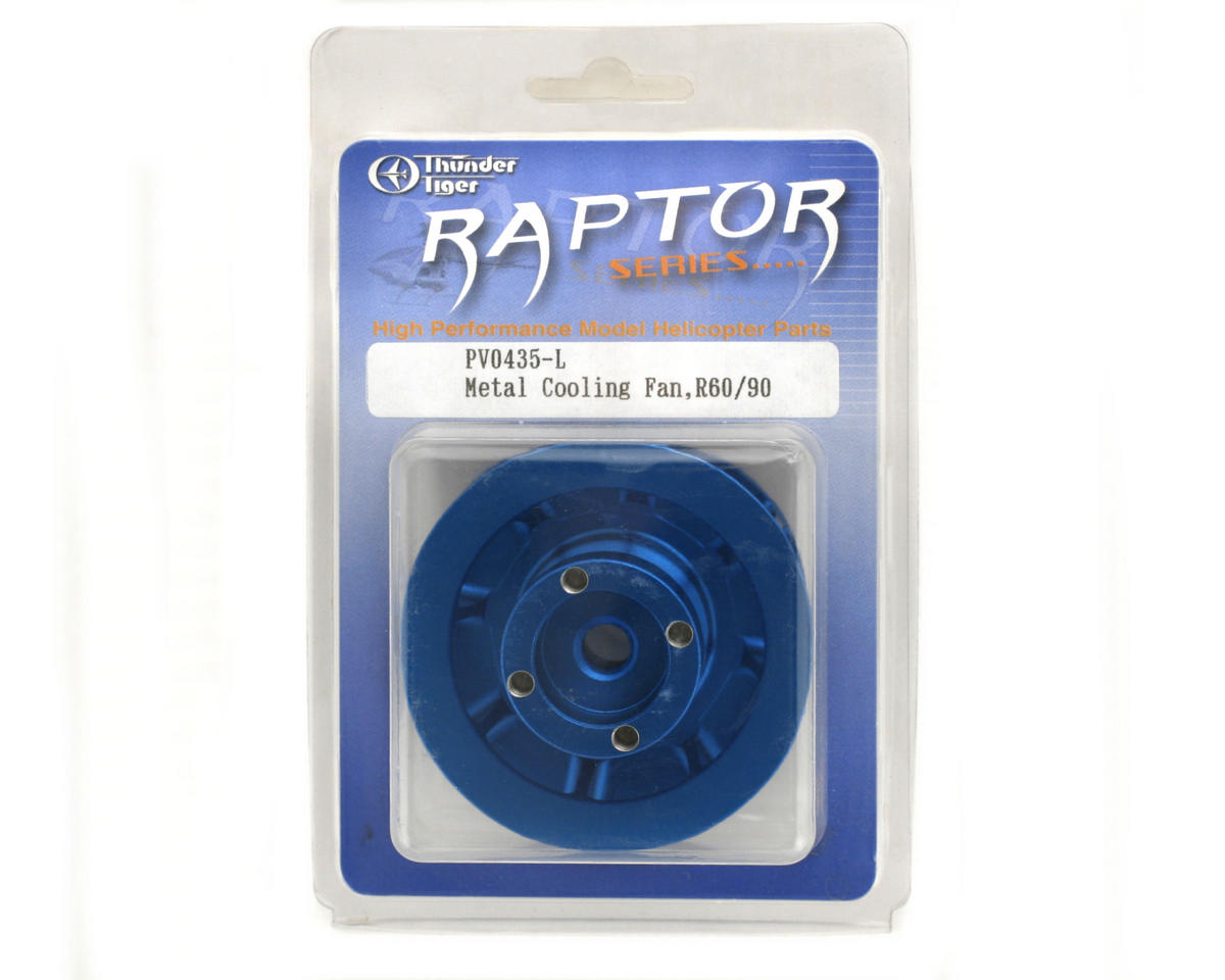 Thunder Tiger Metal Cooling Fan (Blue) (R60/90)