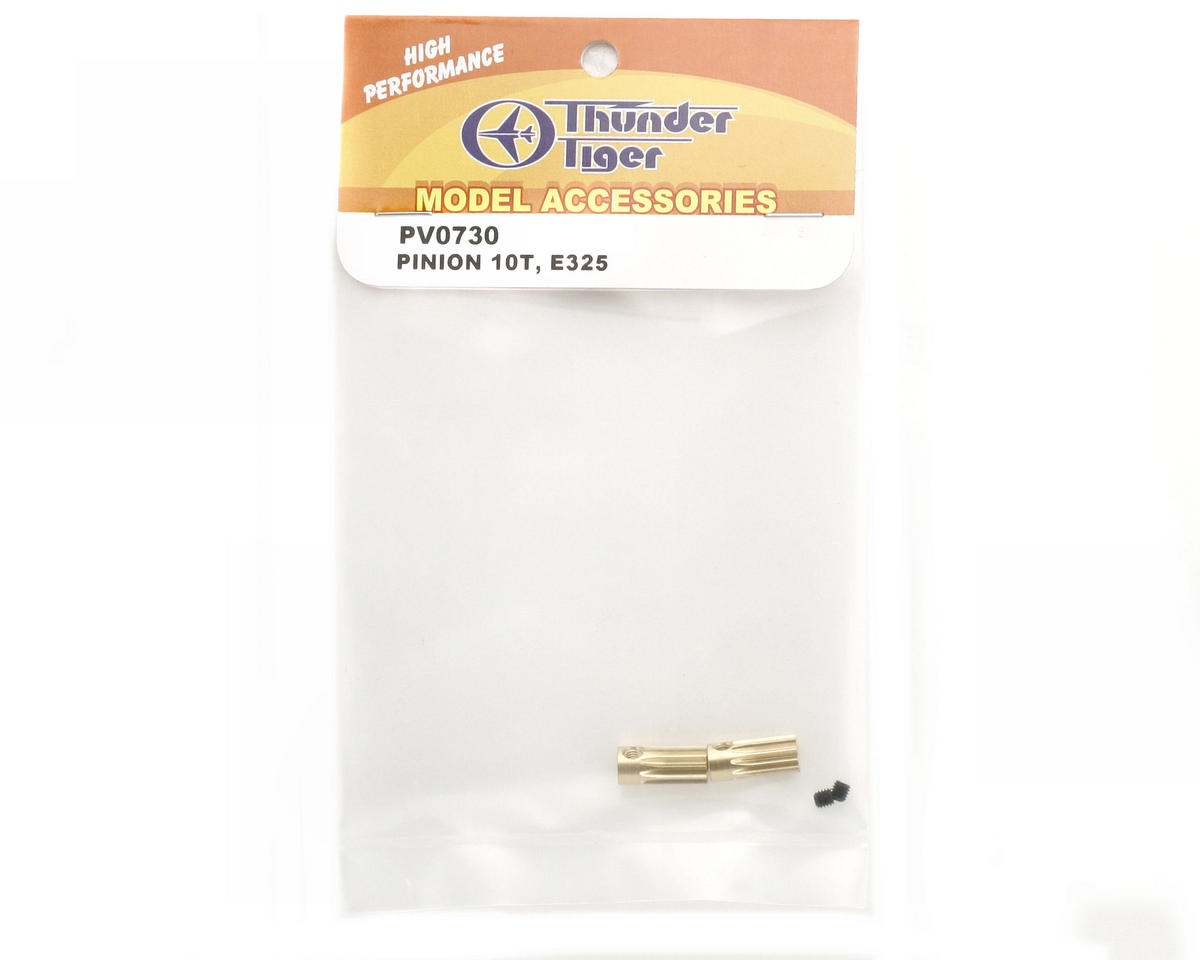 Thunder Tiger E325 Pinion Gear (2) (10T)