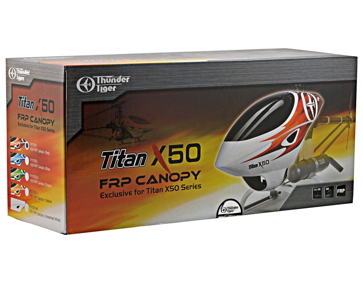 Thunder Tiger 3D FRP Canopy (X50)