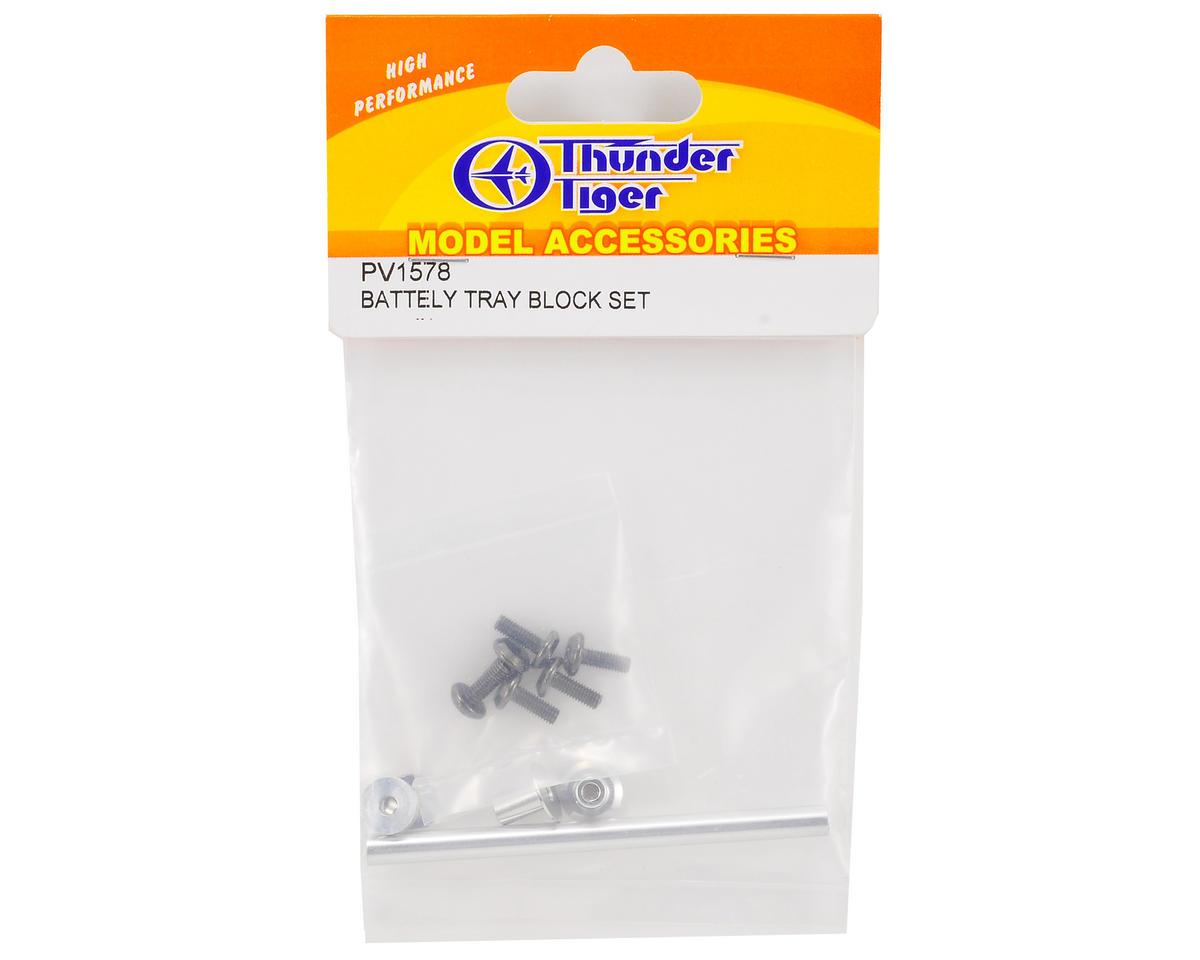 Thunder Tiger Battery Tray Block Set