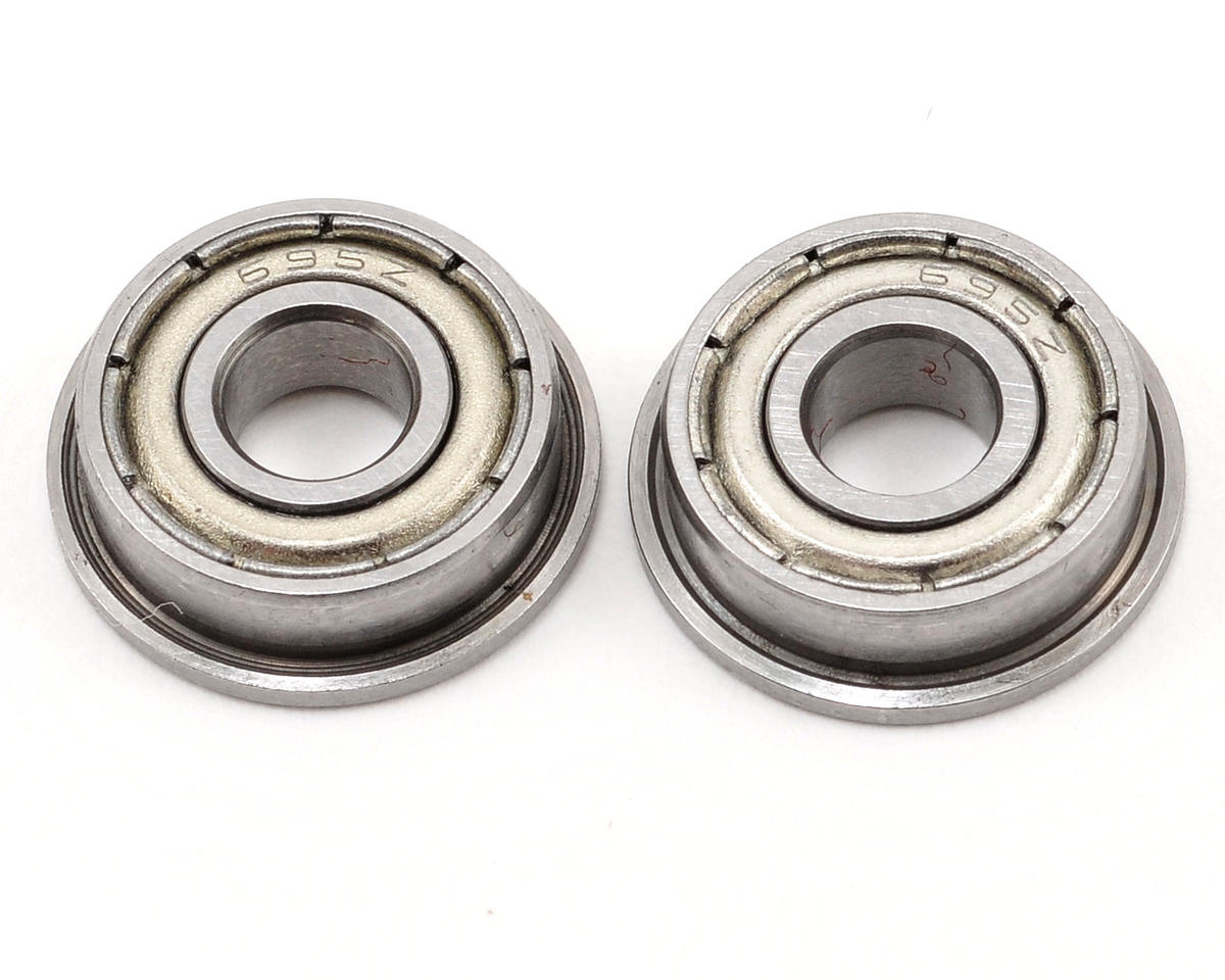 Thunder Tiger 5x13x4mm Flanged Bearing (2)
