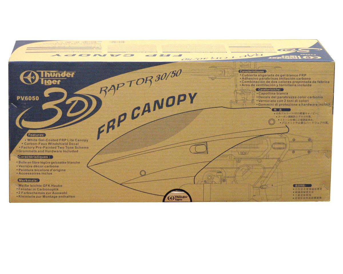 Thunder Tiger 3D Canopy R30/50