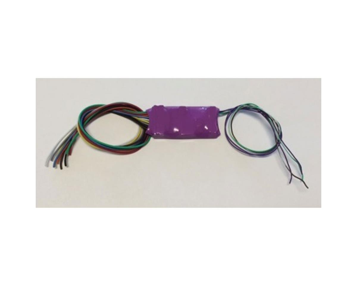 Throttle Up HO/N DCC Sound TSU2200 Decoder, Electric