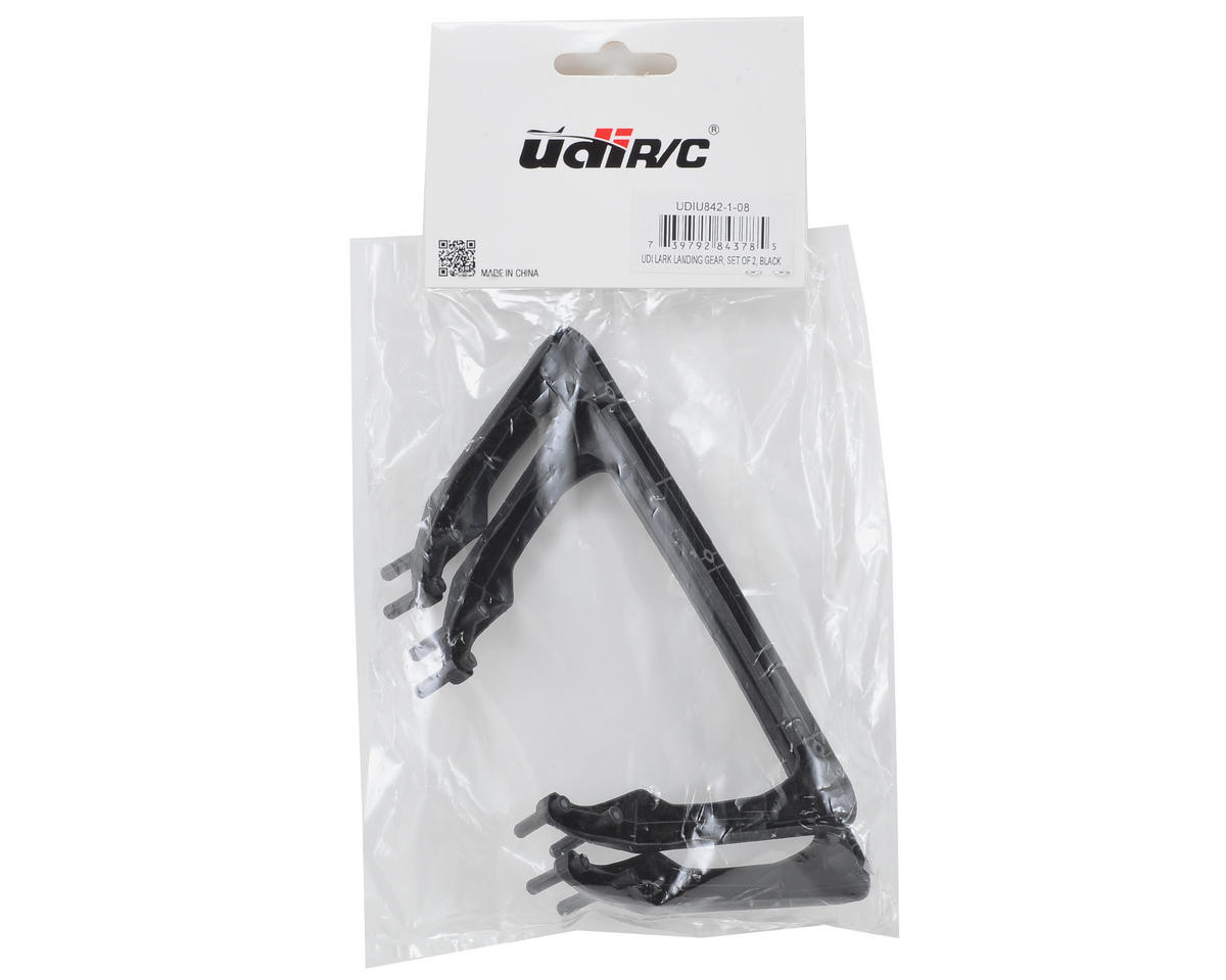 UDI R/C Lark Landing Gear Set (2) (Black)