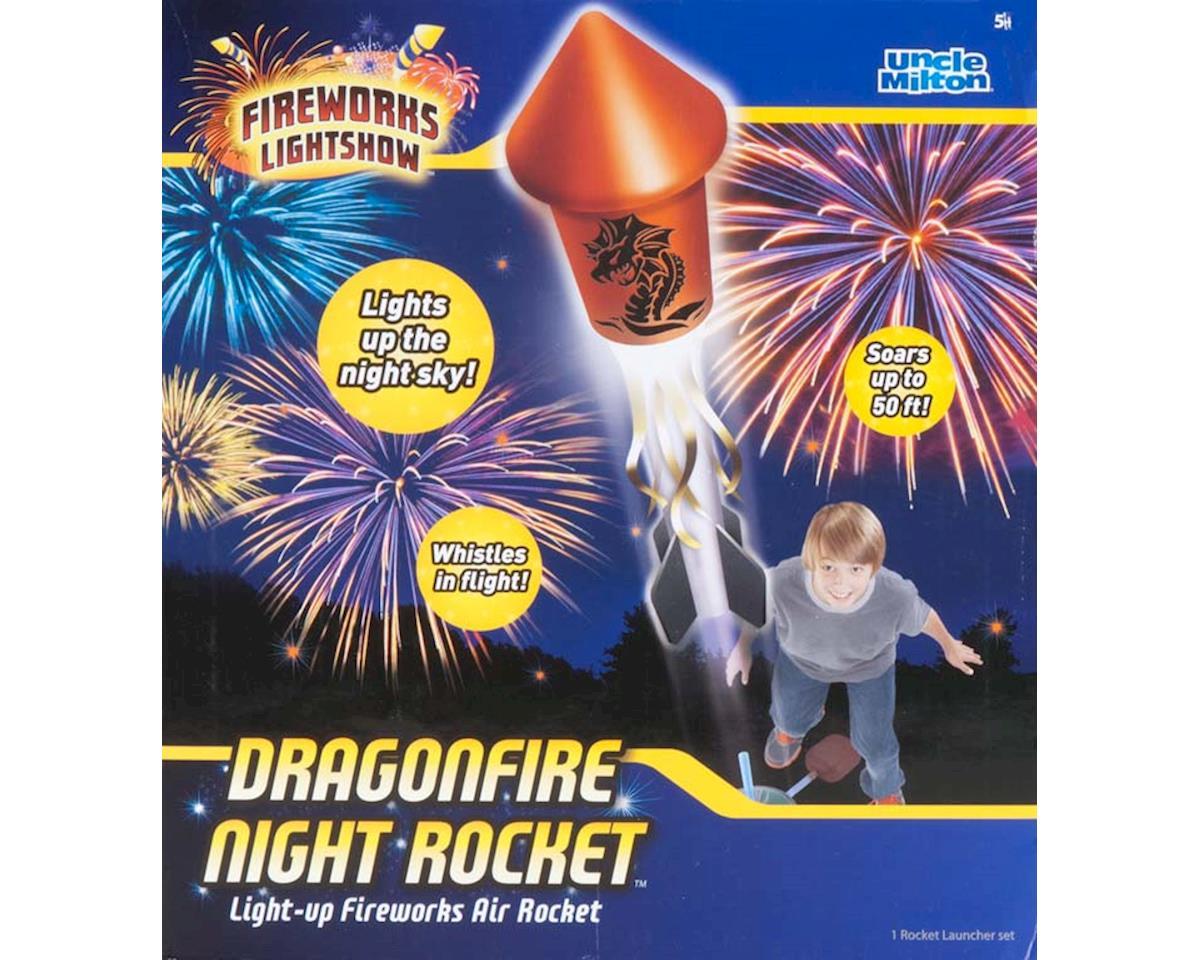 Uncle Milton Industries 2406 Dragonfire Night Rocket