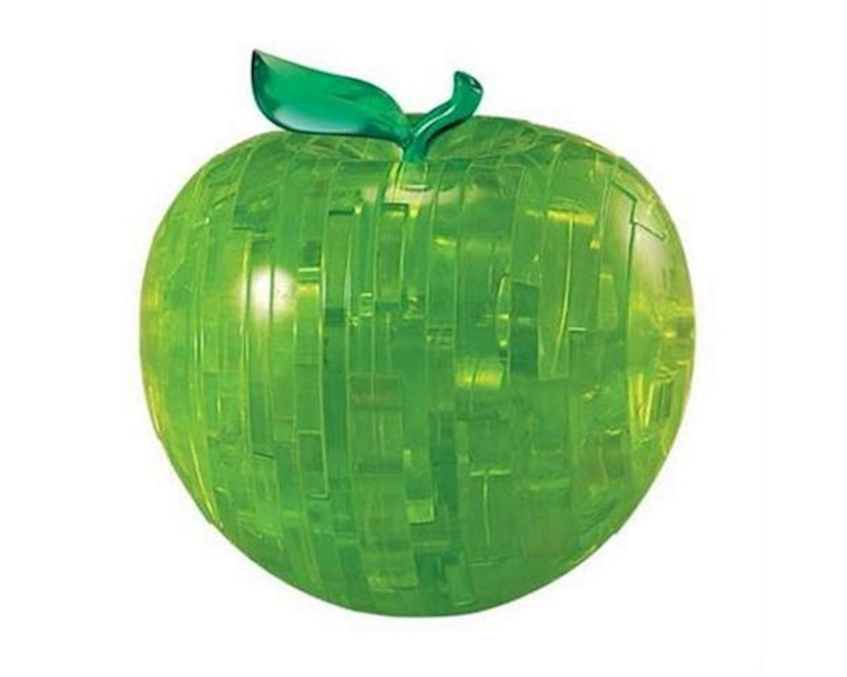 University Games Corp Bepuzzled 30912 3D Crystal Puzzle - Green Apple
