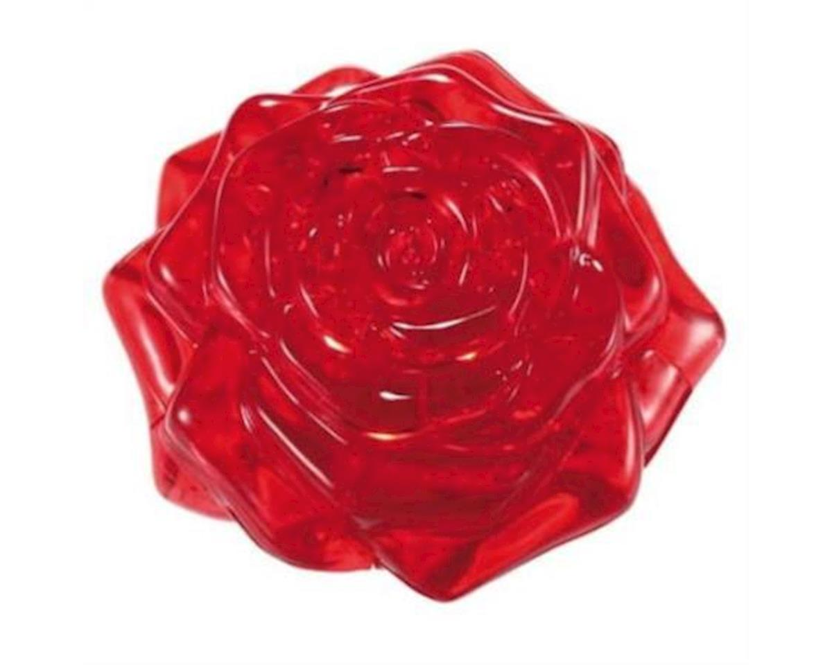 University Games Corp Bepuzzled 30927 3D Crystal Puzzle - Red Rose